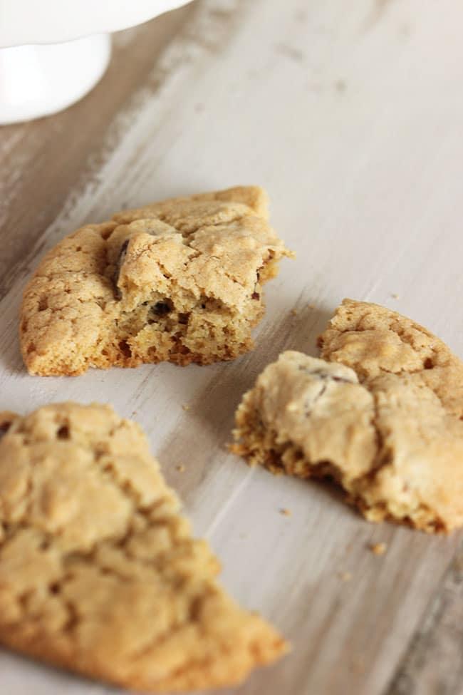 Dairy Free Chocolate Chip Cookies | The Suburban Soapbox