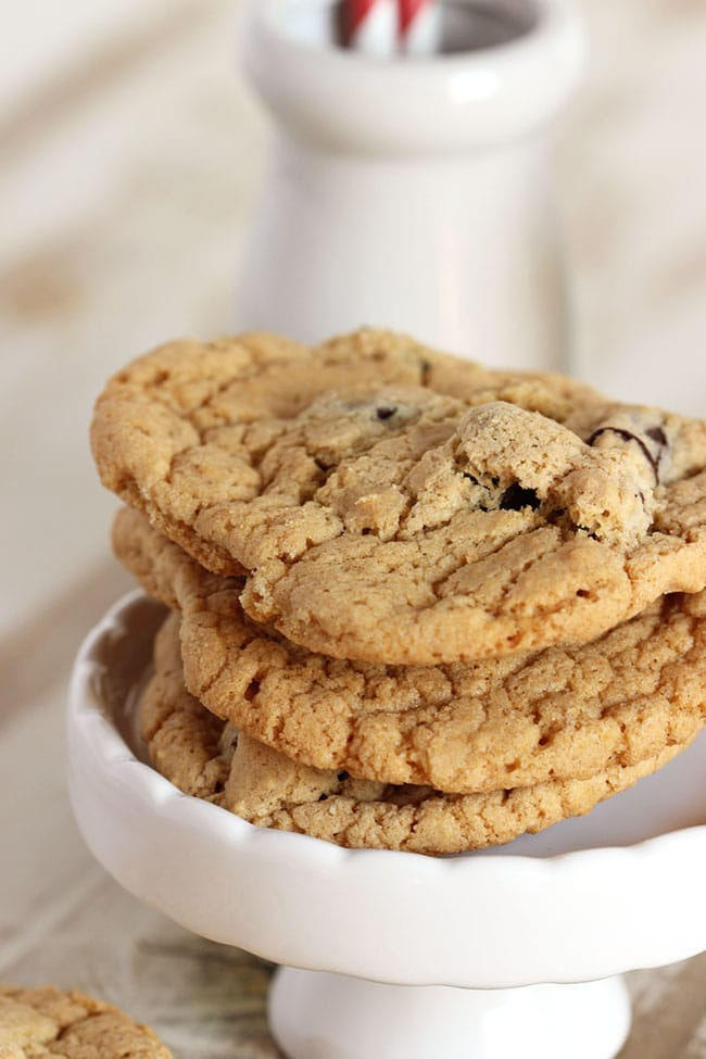 Dairy Free Chocolate Chip Cookies | The Suburban Soapbox