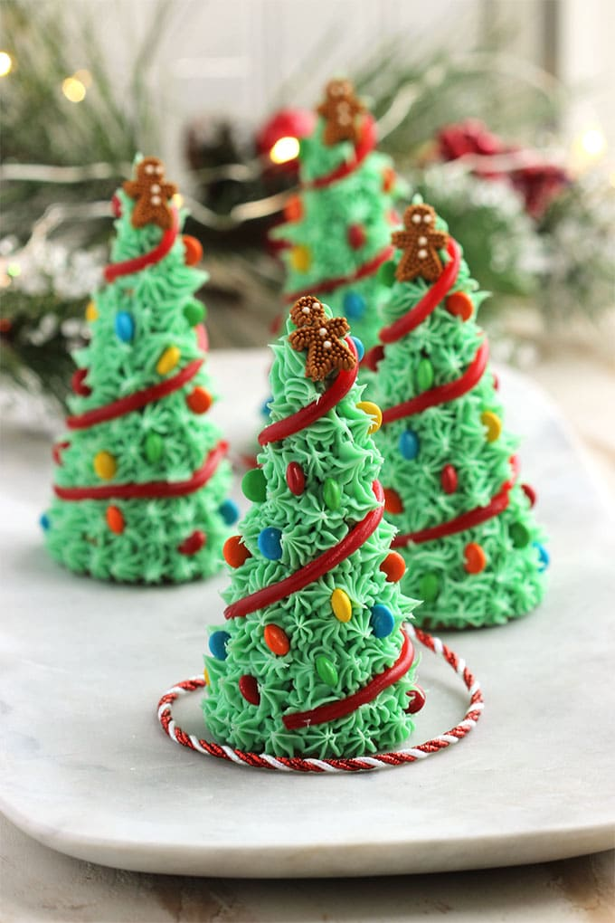 super easy to make sugar cone christmas trees are fun for kids and the best holiday