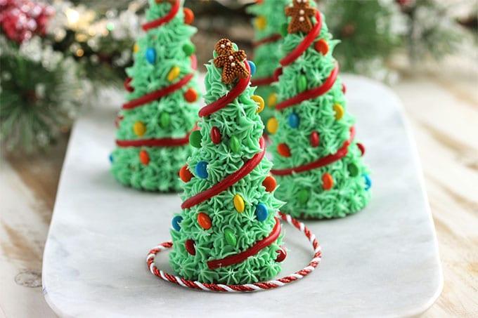 Sugar Cone Christmas Trees