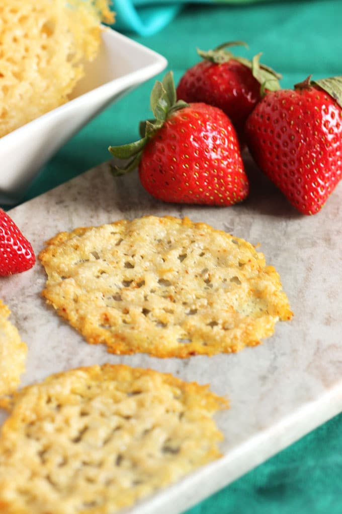 Easy Parmesan Crisps | The Suburban Soapbox