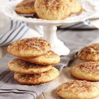 The Very Best Snickerdoodle Cookies