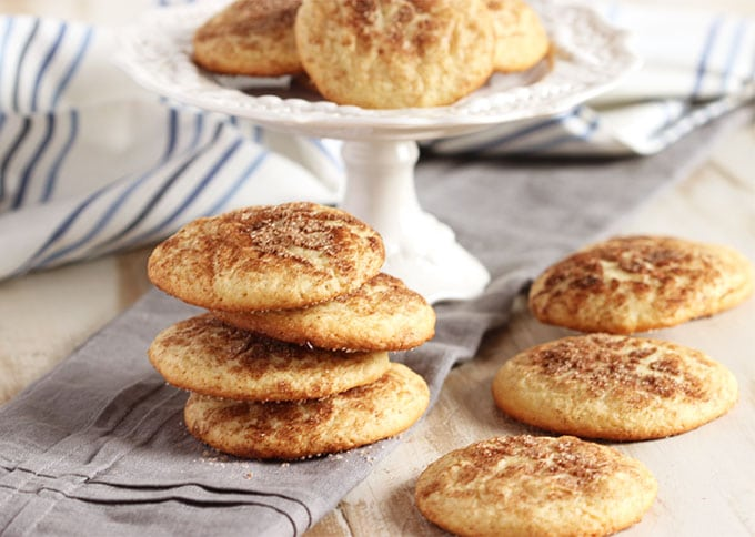 The Very Best Snickerdoodle Cookies