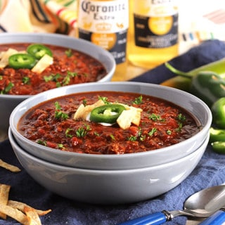 Slow Cooker Sweet and Spicy Chili