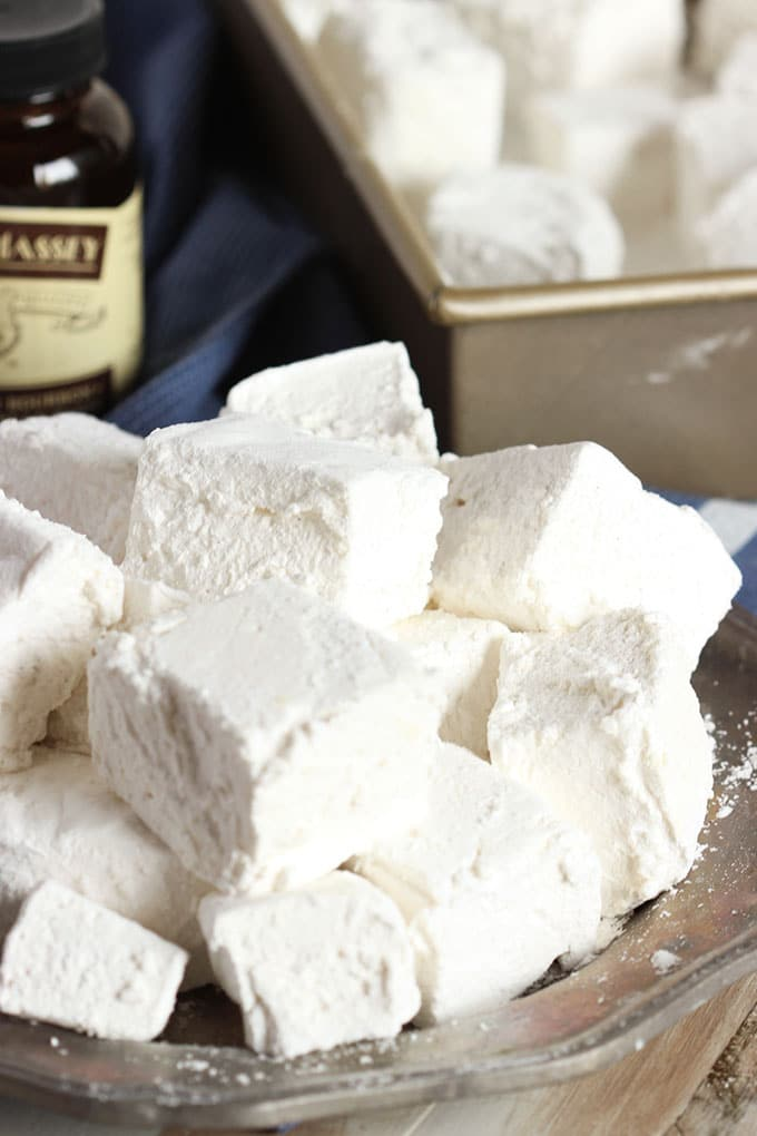 vanilla marshmallows homemade marshmallows homemade marshmallows ...