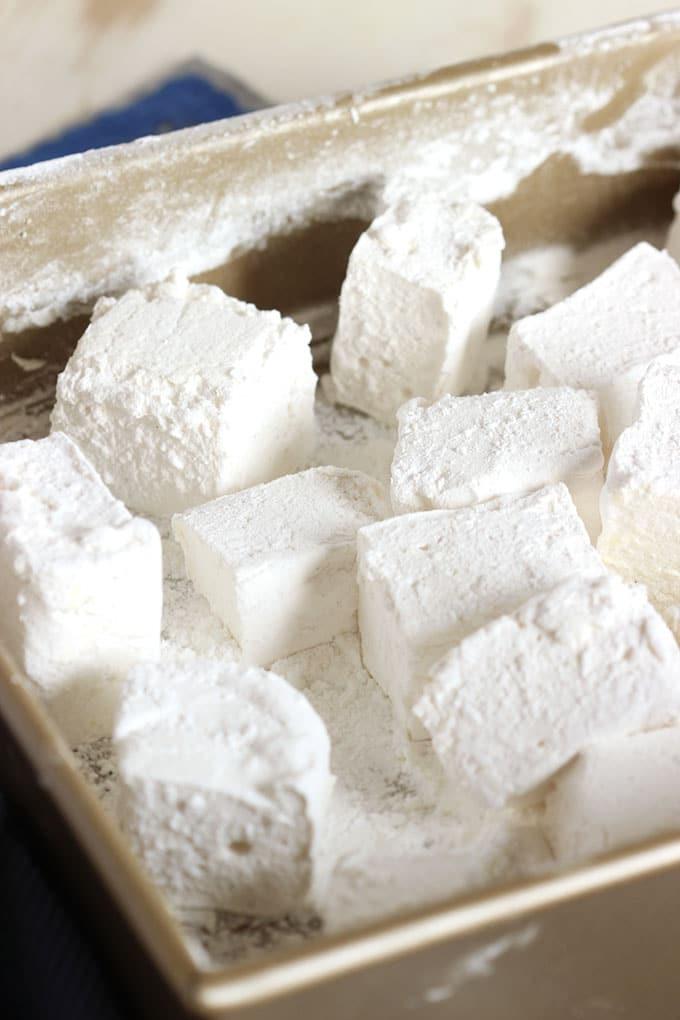 Easy Vanilla Bean Marshmallows | The Suburban Soapbox