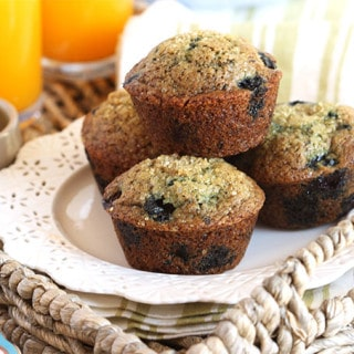 The Very Best Blueberry Muffins   TheSuburbanSoapbox.com