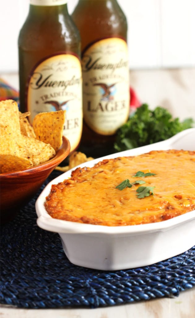 Easy Chili Cheese Dip | TheSuburbanSoapbox.com
