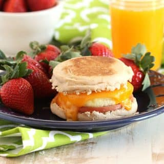 Make Ahead Freezer Breakfast Sandwiches // Video