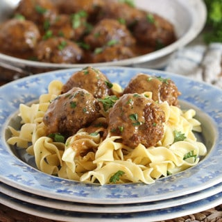 Simple Swedish Meatballs