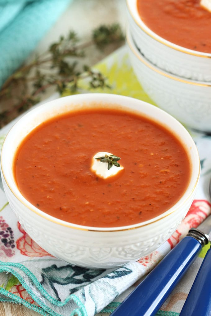 The Very Best Tomato Soup | TheSuburbanSoapbox.com
