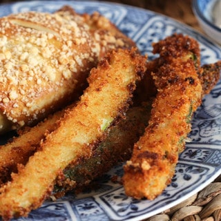 Parmesan Crusted Zucchini Fries #BetterBakery