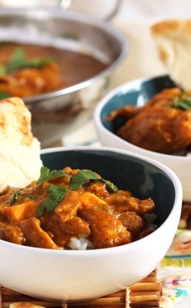 Slow Cooker Butter Chicken | TheSuburbanSoapbox.com