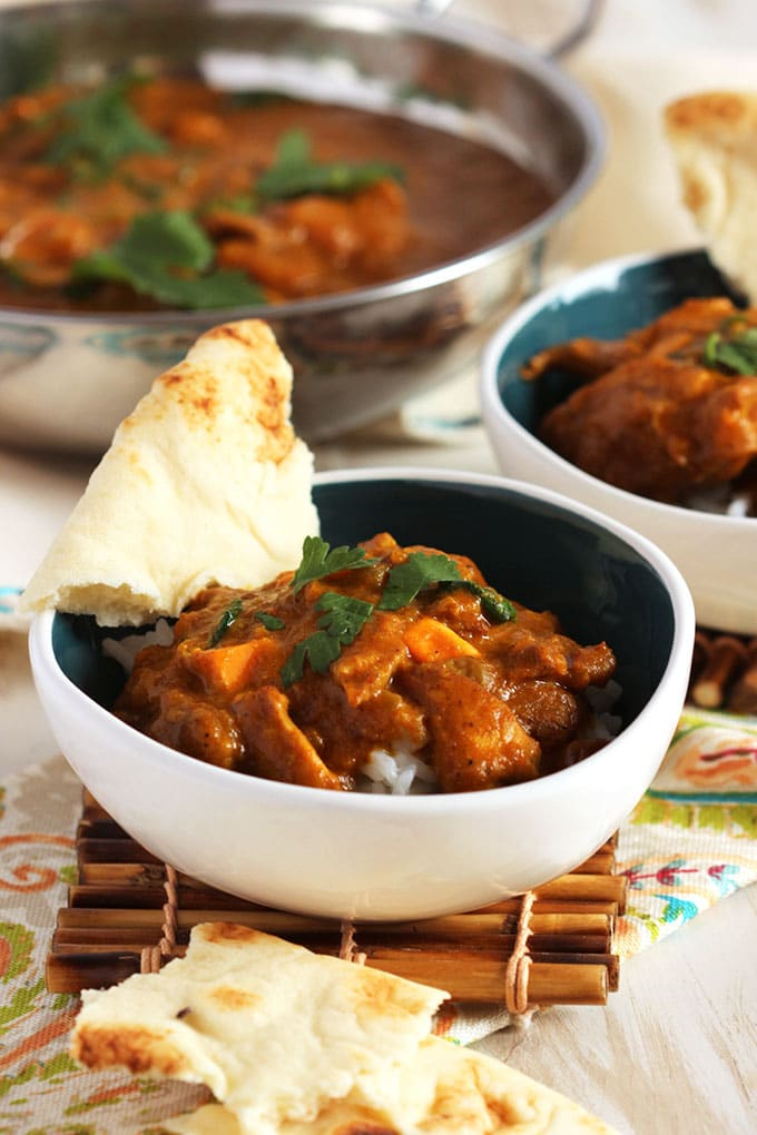 Slow Cooker Butter Chicken | TheSuburbanSoapbox.com
