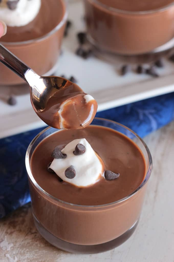 The Very Best Chocolate Pudding | TheSuburbanSoapbox.com