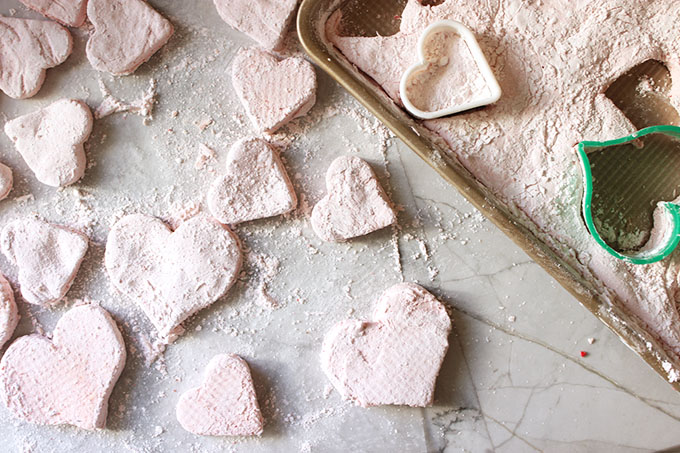 Chocolate Covered Strawberry Marshmallows | TheSuburbanSoapbox.com