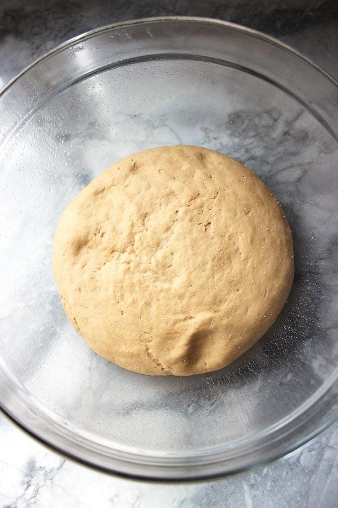 Whole Wheat Pizza Dough | TheSuburbanSoapbox.com #MadeWithKitchenAid