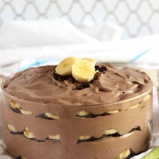Chocolate Banana Pudding | TheSuburbanSoapbox.com