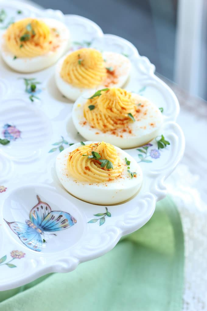 The Very Best Deviled Eggs | TheSuburbanSoapbox.com