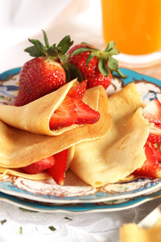 The Very Best Basic Crepe Recipe | TheSuburbanSoapbox.com