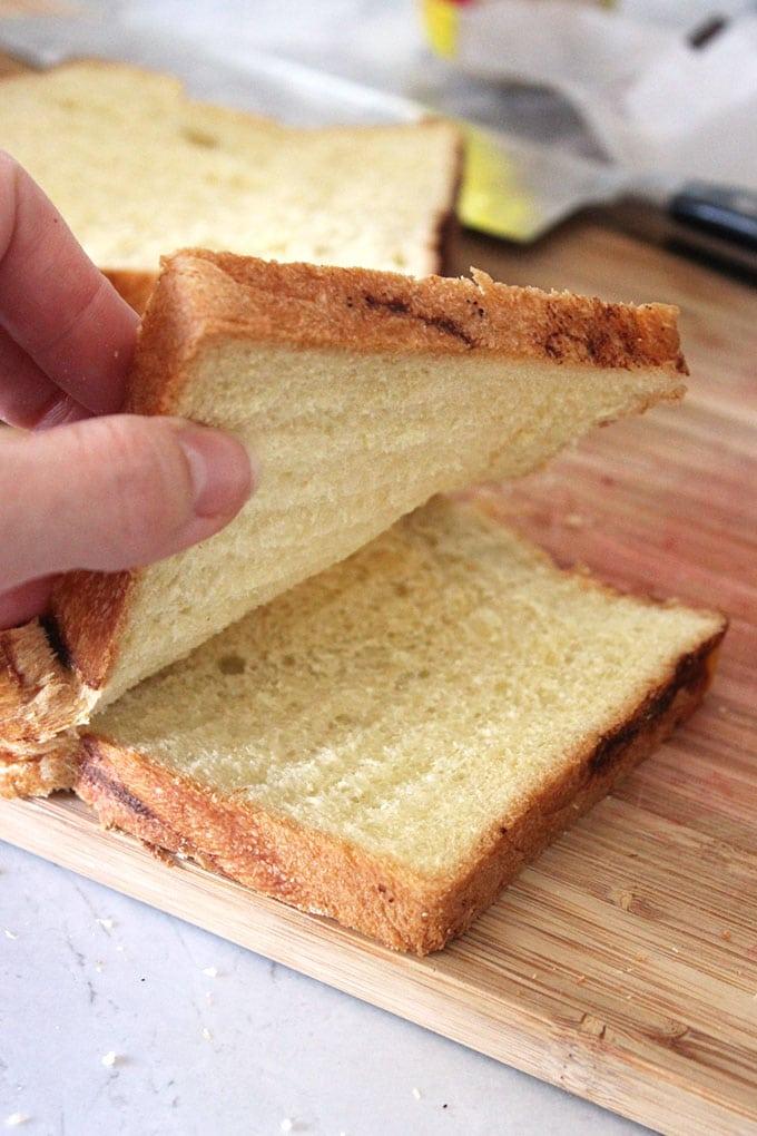 Mascarpone Stuffed Lemon Honey French Toast with Strawberry Compote | TheSuburbanSoapbox.com  #CHHoneyGranules