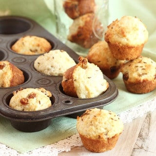 Mini Irish Soda Bread Muffins