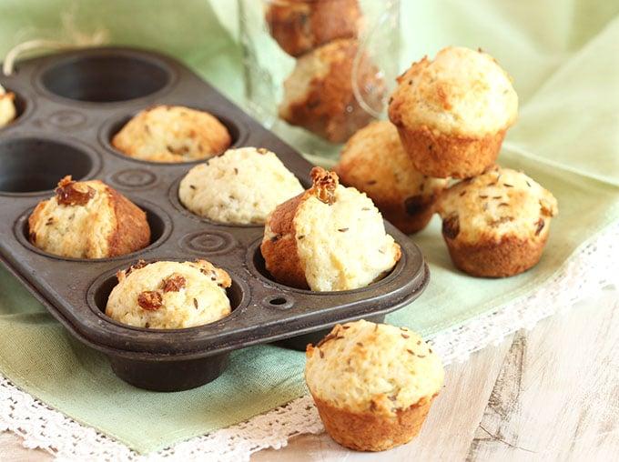 Mini Irish Soda Bread Muffins