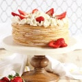 Strawberry Crepe Cake 3