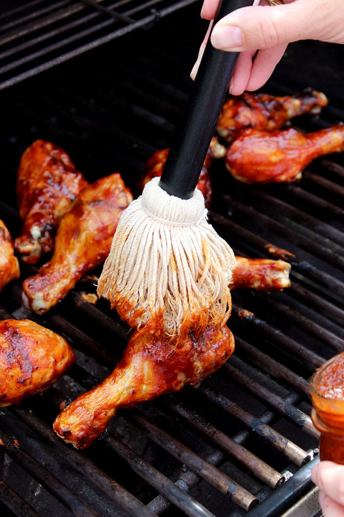 The Very Best Barbecue Chicken | TheSuburbanSoapbox.com