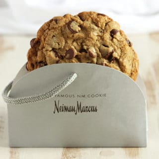 The Very Best Neiman Marcus Chocolate Chip Cookie Recipe