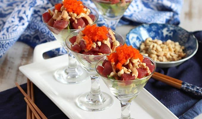 Spicy Tuna Sundaes