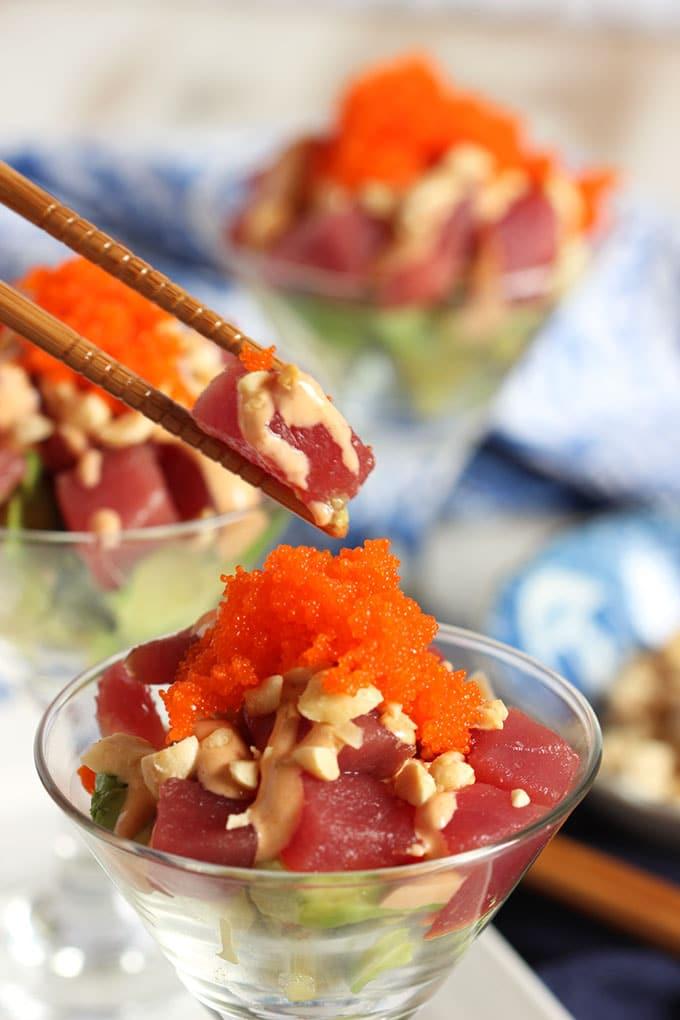 Spicy Tuna Sundaes | TheSuburbanSoapbox.com