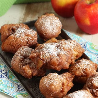 Easy Apple Fritters #BrunchWeek