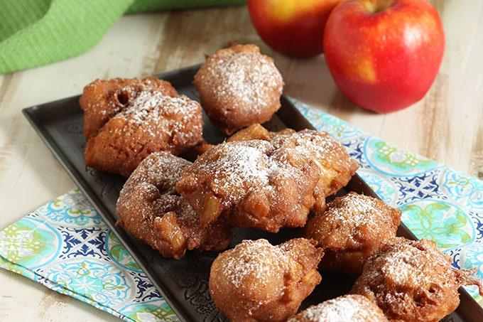 Easy Apple Fritters #BrunchWeek
