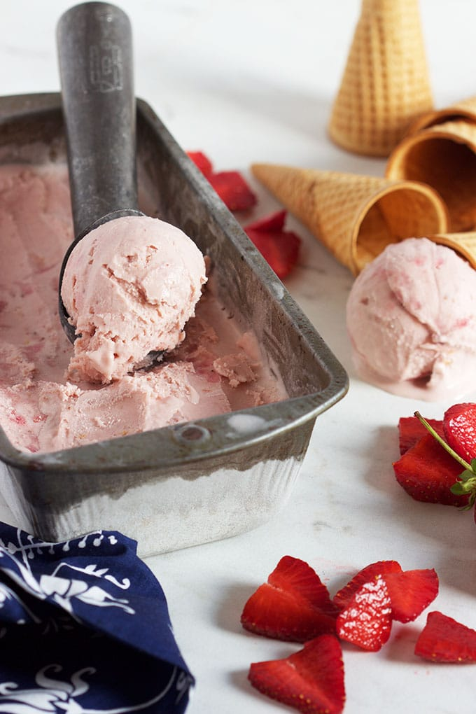 The Very Best Strawberry Ice Cream Thesuburbansoapbox