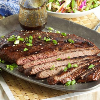 Five Spice Teriyaki Flank Steak
