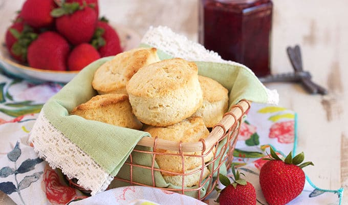 2 Ingredient Cream Biscuits
