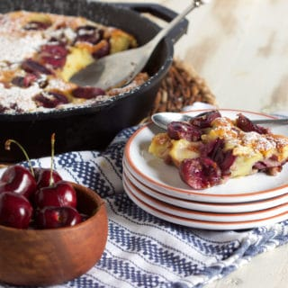 Simple Cherry Clafoutis