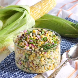 Corn and Pea Salad 8