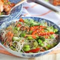 Asian Rice Noodle Salad 2