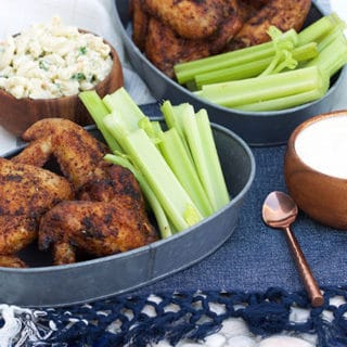 Grilled Old Bay Chicken Wings