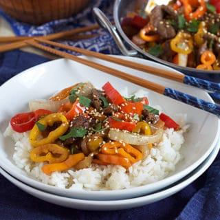15 Minute Pepper Steak
