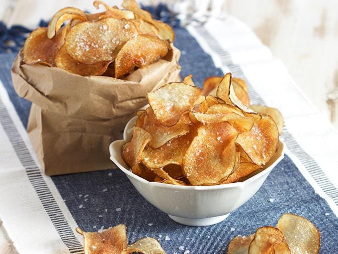 Easy Salt and Vinegar Potato Chips