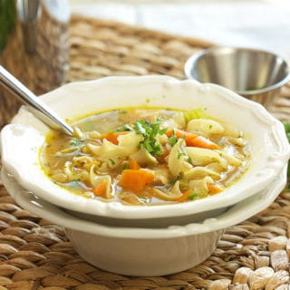 The Very Best Chicken Noodle Soup