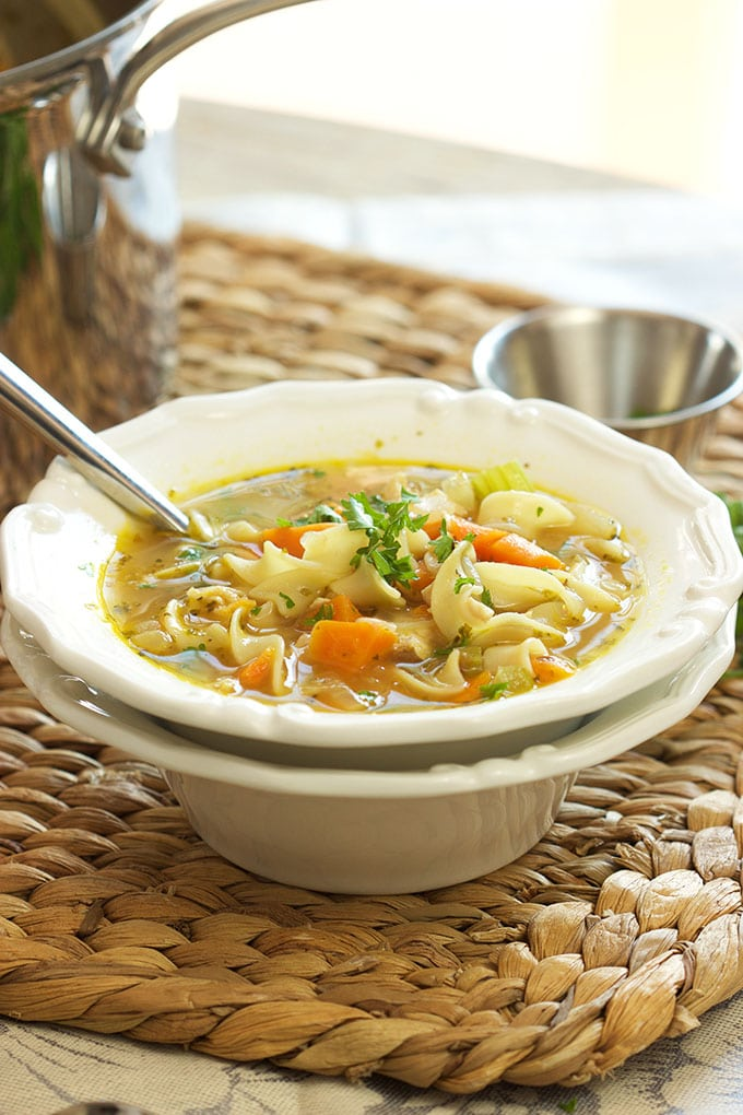 The Very Best Chicken Noodle Soup - The Suburban Soapbox