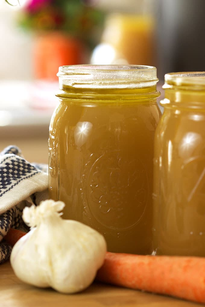 The BEST and easiest Beef Stock Recipe from TheSuburbanSoapbox.com