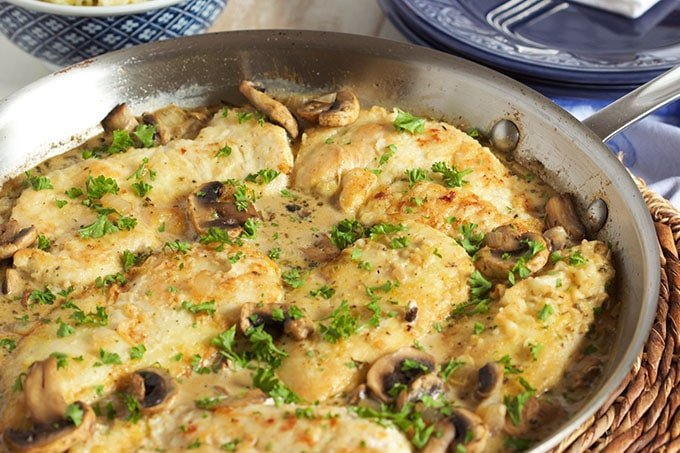 Easy Chicken Marsala Skillet