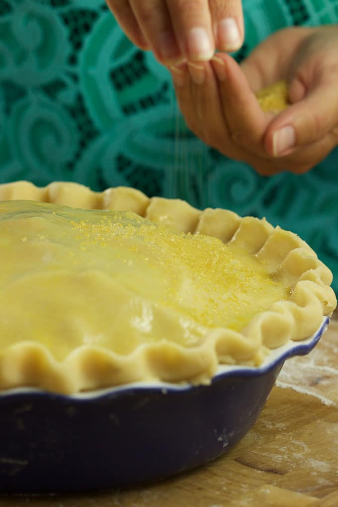 Classic and simple, this is the BEST Apple Pie recipe ever...the only one you'll ever need. TheSuburbanSoapbox.com