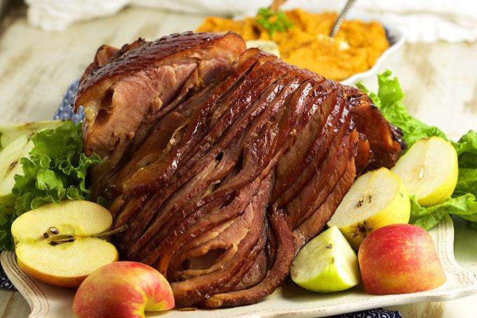 Bourbon Honey Baked Ham