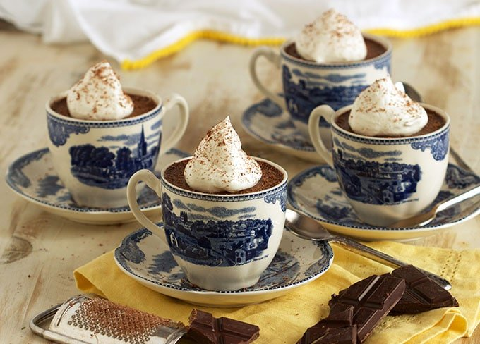 Chocolate Pot de Creme recipe